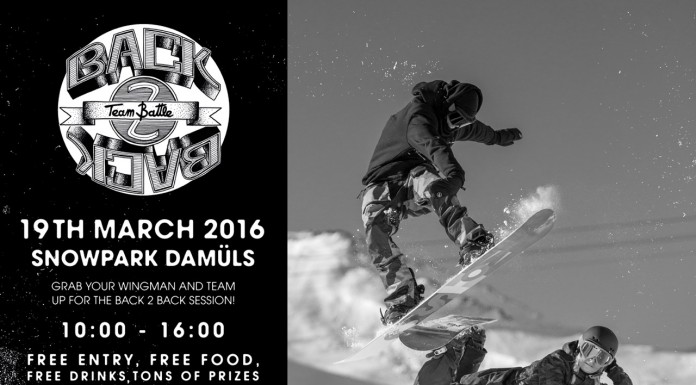 Volcom Back 2 Back Team Battle - Snowpark Damüls