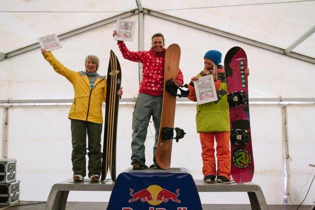 Podium Masters Women: Ruthyie Goepel , Babs Hemund und Daniela Wolf