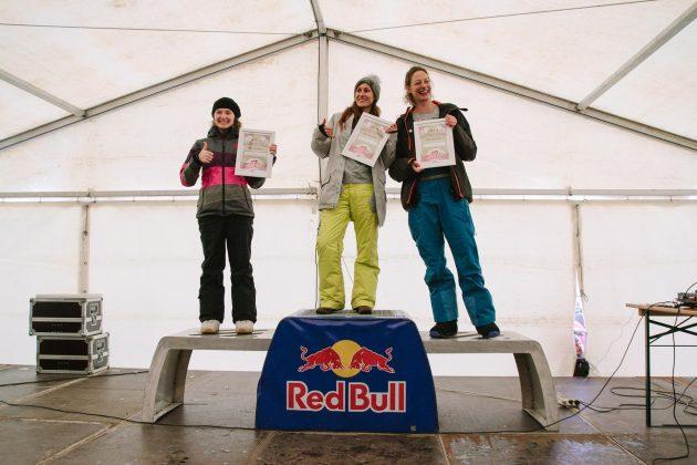 Podium Noschool Women: Merel Van Diepen, Jacqueline Fessler und Melanie Hoch