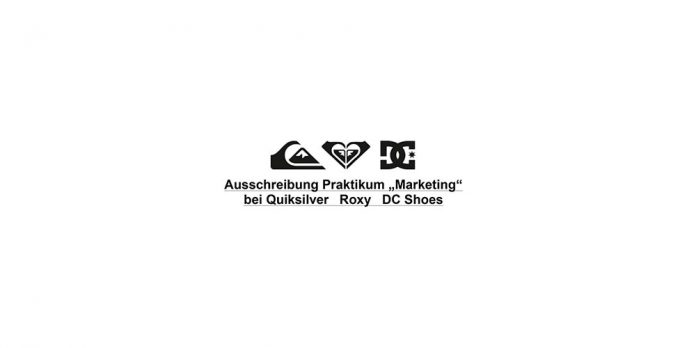 Marketing Praktikum bei Quiksilver / Roxy / DC Shoes