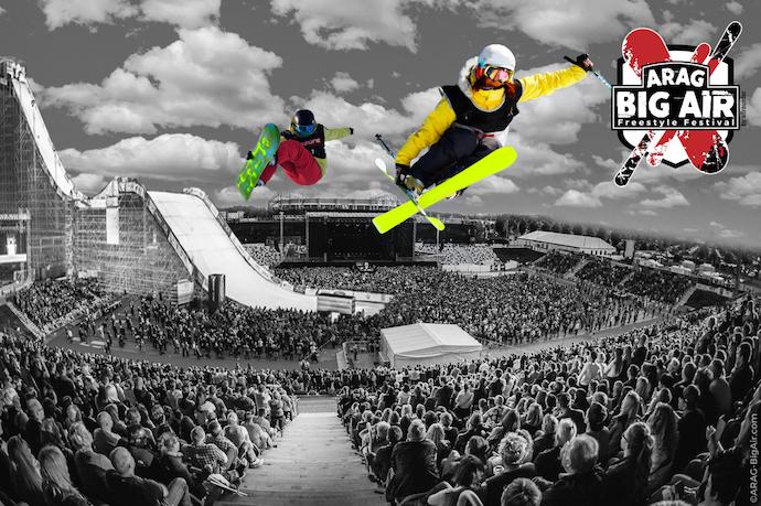 Sportfreunde Stiller bestätigen ARAG Big Air Freestyle Festival