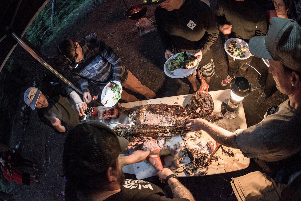 Na denn: Mahlzeit! | © snowboardmag.com/Joel Fraser