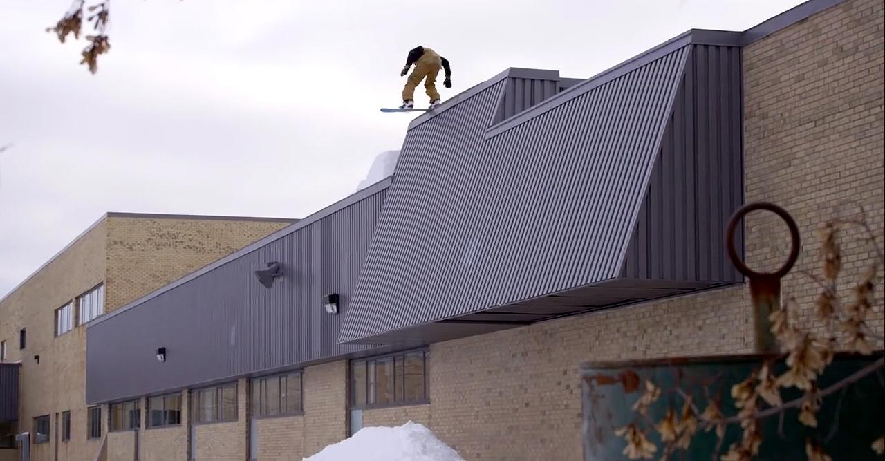 Craig McMorris verscheucht den Schornsteinfeger und nimmt das Dach ein