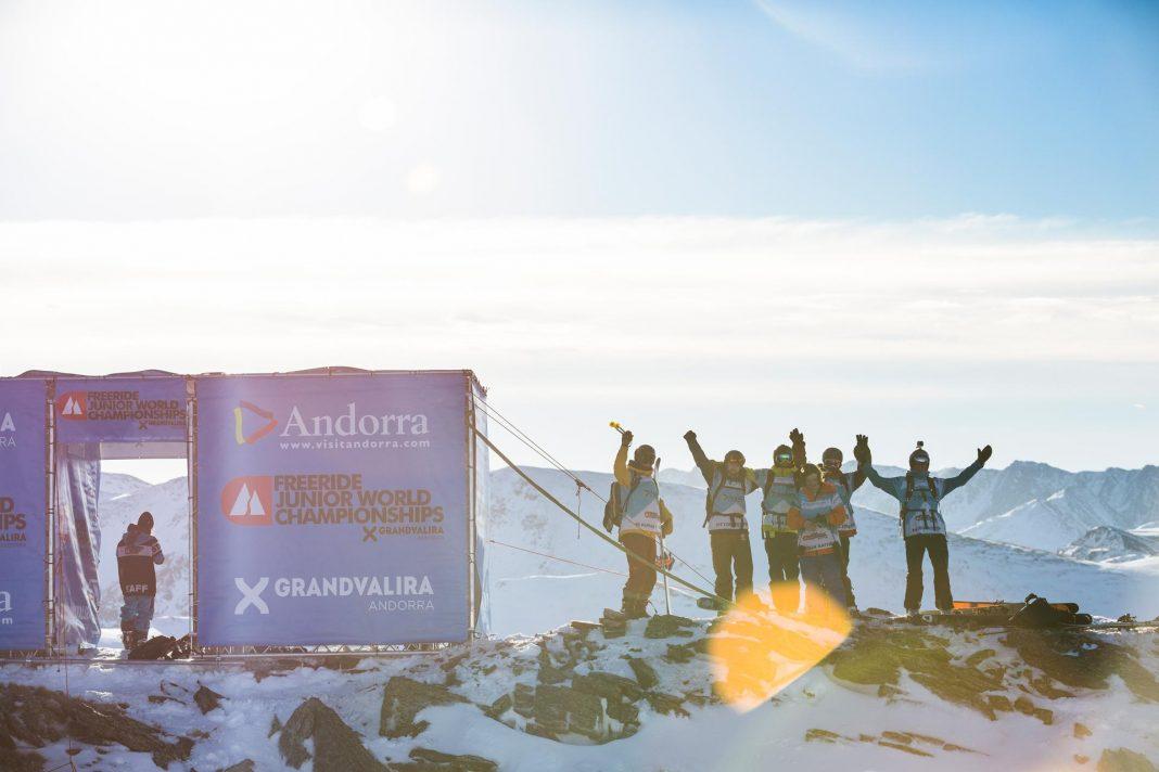 Die Freeride-Juniorenweltmeisterschaft kommt zurück nach Grandvalira (Andorra) - Foto: J. Bernard / freerideworldour.com