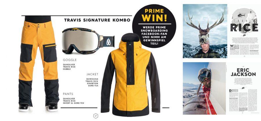 Wer hat Lust, den Winter in Travis' Signature-Kombo zu verbringen?