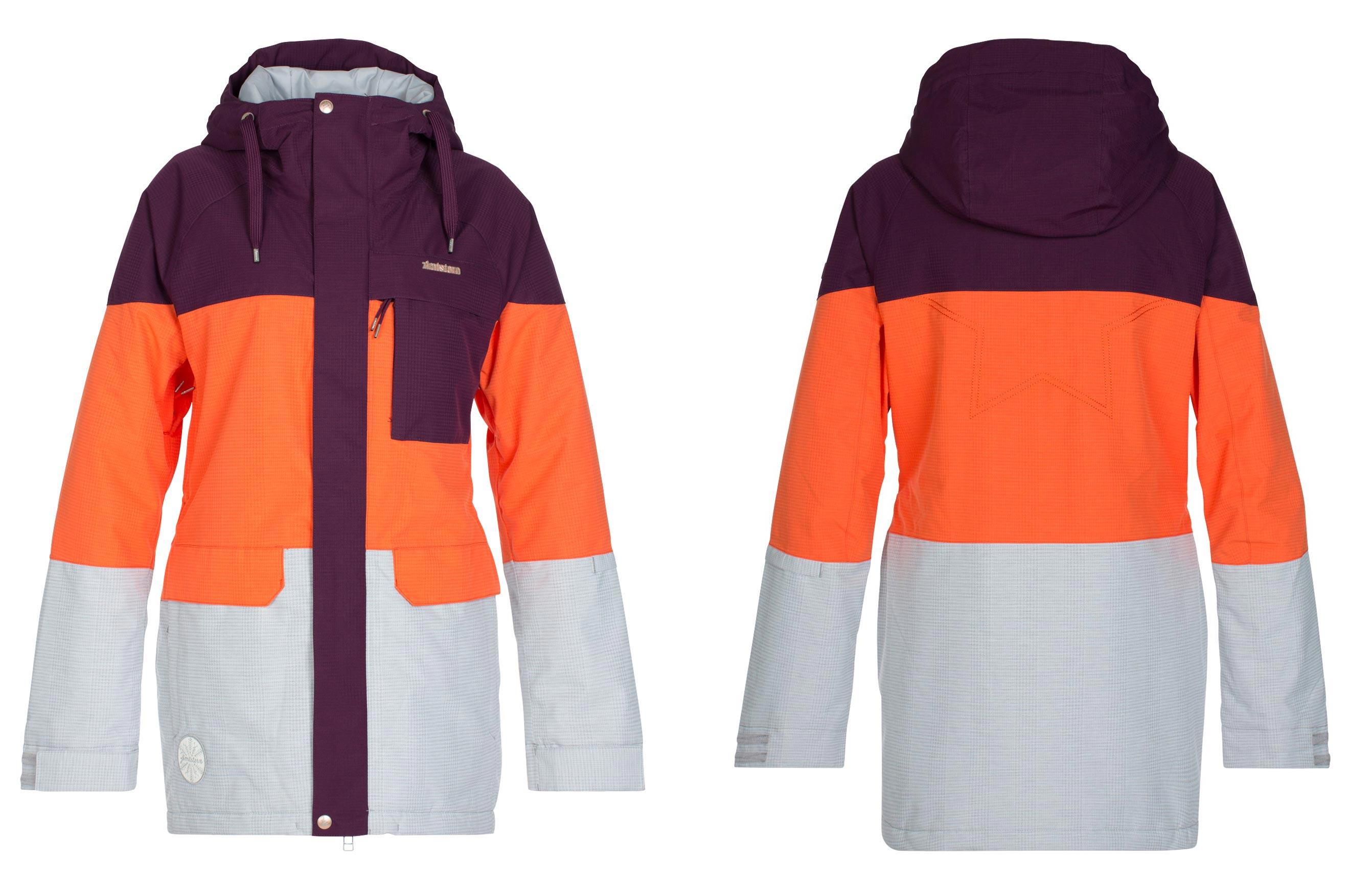 Zimtstern Millez Jacket für Damen - Farbe: Plum