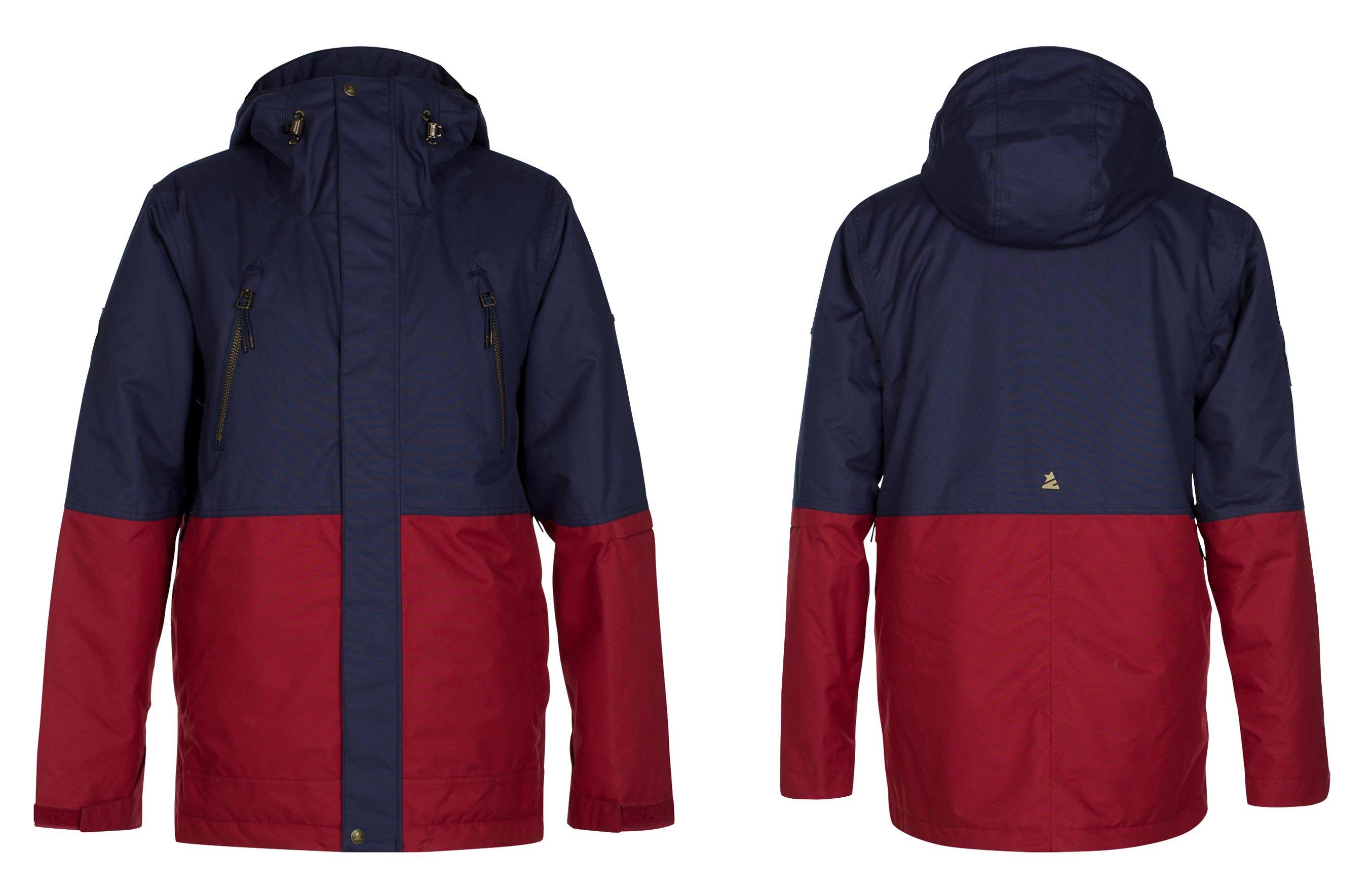 Zimtstern Leifz Snow Jacket für Männer - Farbe: Navy