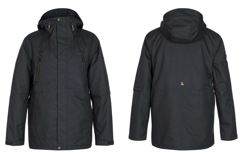 Zimtstern Leifz Snow Jacket für Männer - Farbe: Black