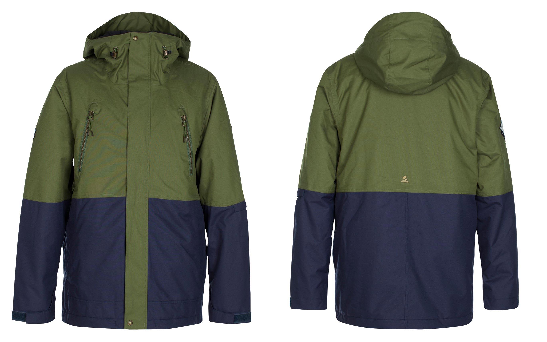 Zimtstern Leifz Snow Jacket für Männer - Farbe: Olive