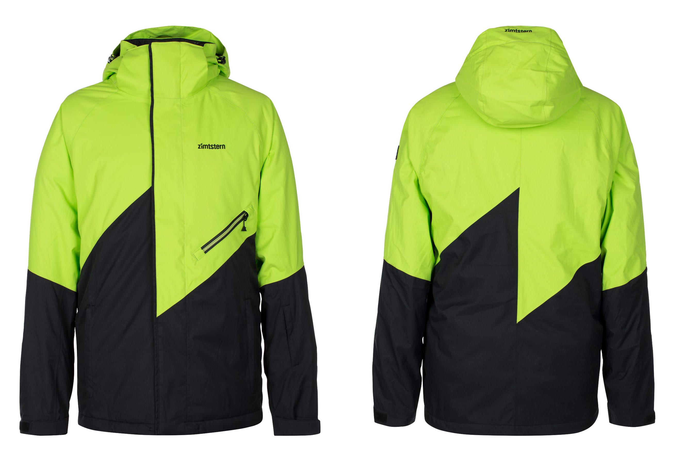 Zimtstern Lokez Snow Jacket für Männer - Farbe: Lime