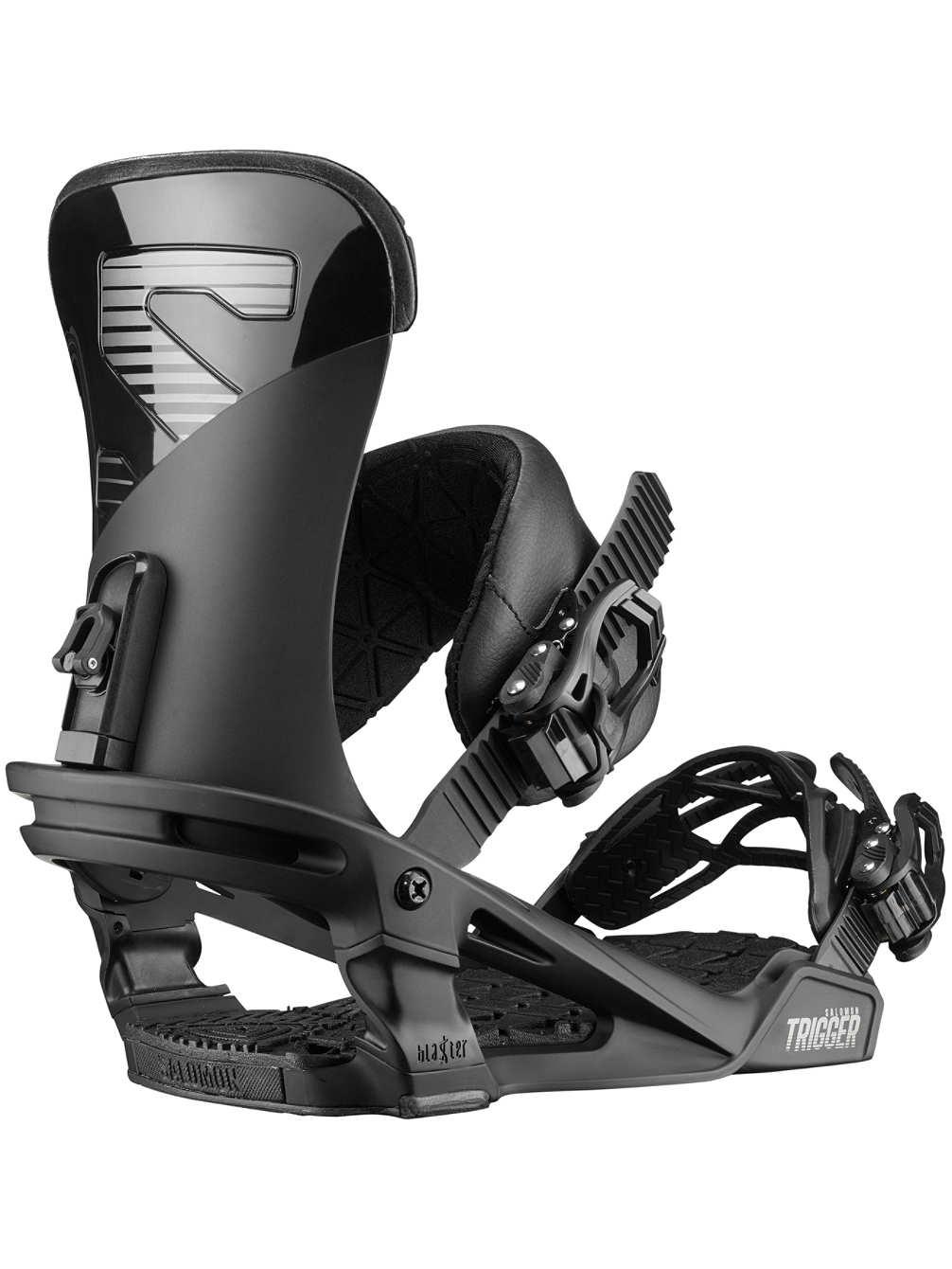 Salomon Trigger 2020 - snowboard bindung und stance einstellen