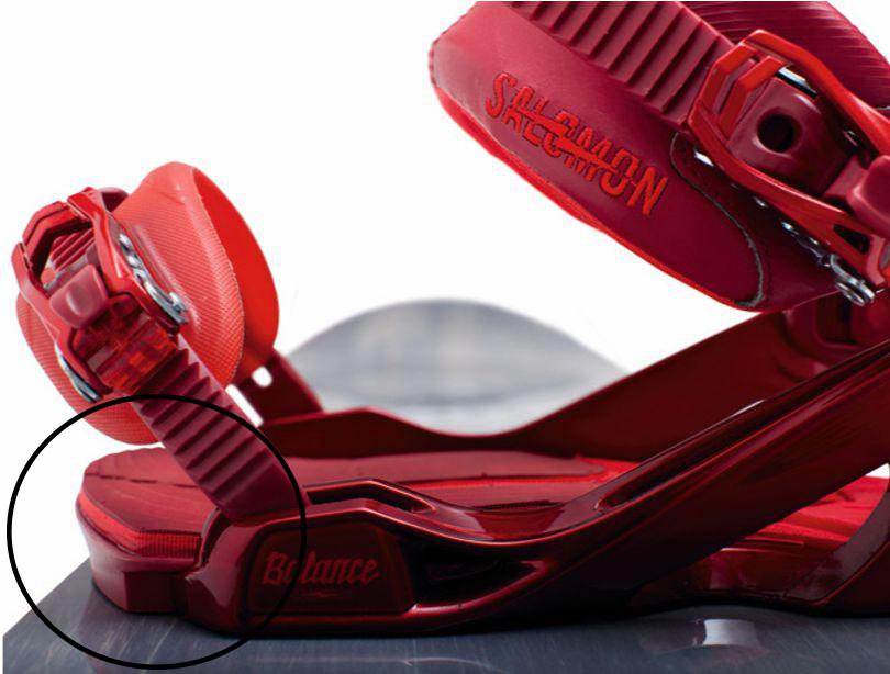Snowboard Bindung und Stance einstellen - Toeramp