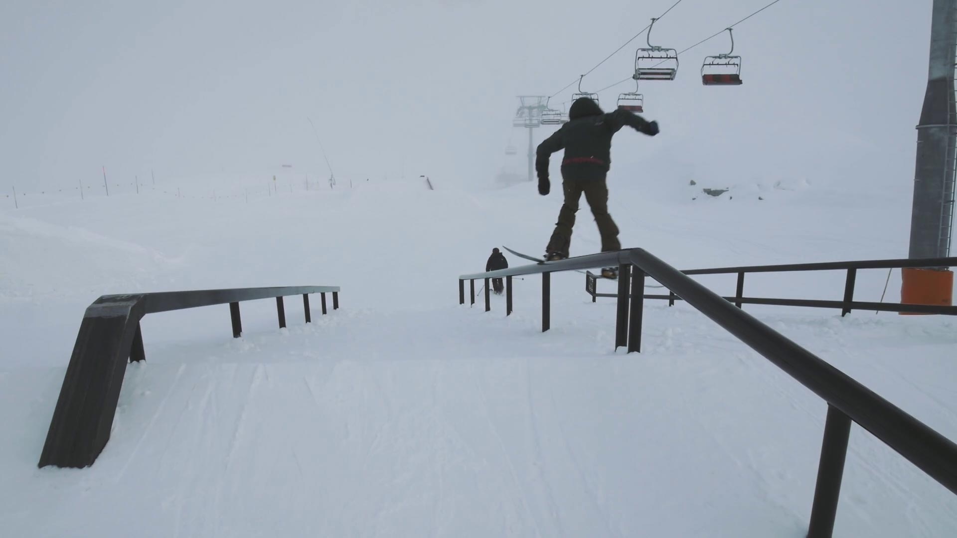Corvatsch Park Opening Day
