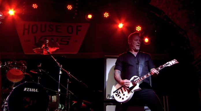 Metallica im House of Vans