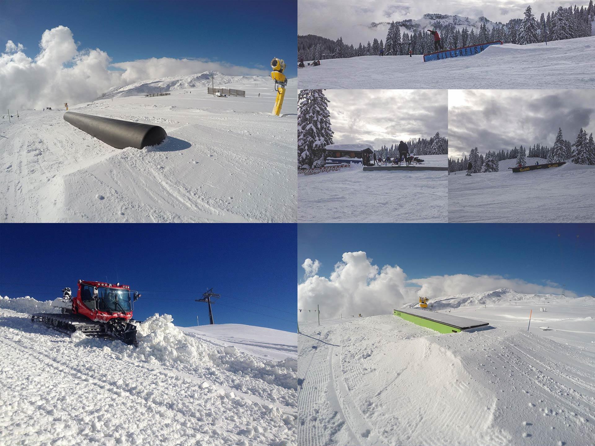 Welche Snowparks haben diese Woche geöffnet?