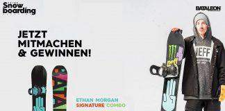 Gewinnspiel - Ethan Morgan und Bataleon Snowboards