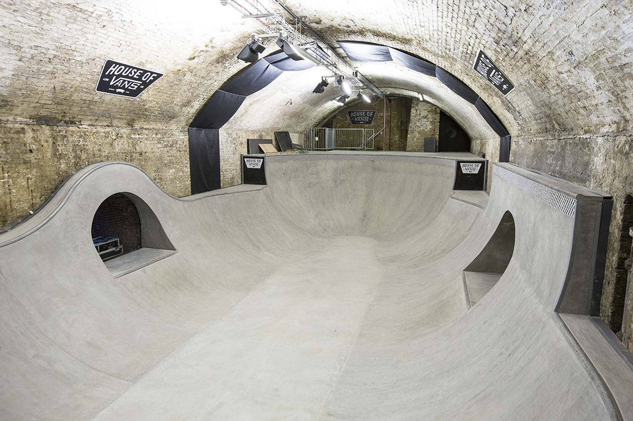 Ein Traum aus Beton: Das House of Vans in London | © thevandallist.com
