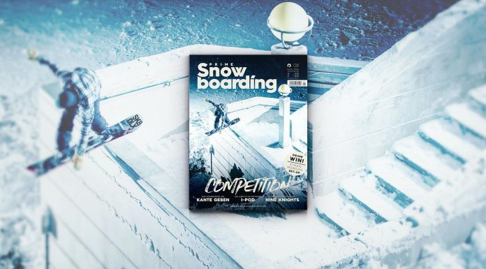 Prime Snowboarding #8 - The Competition Issue