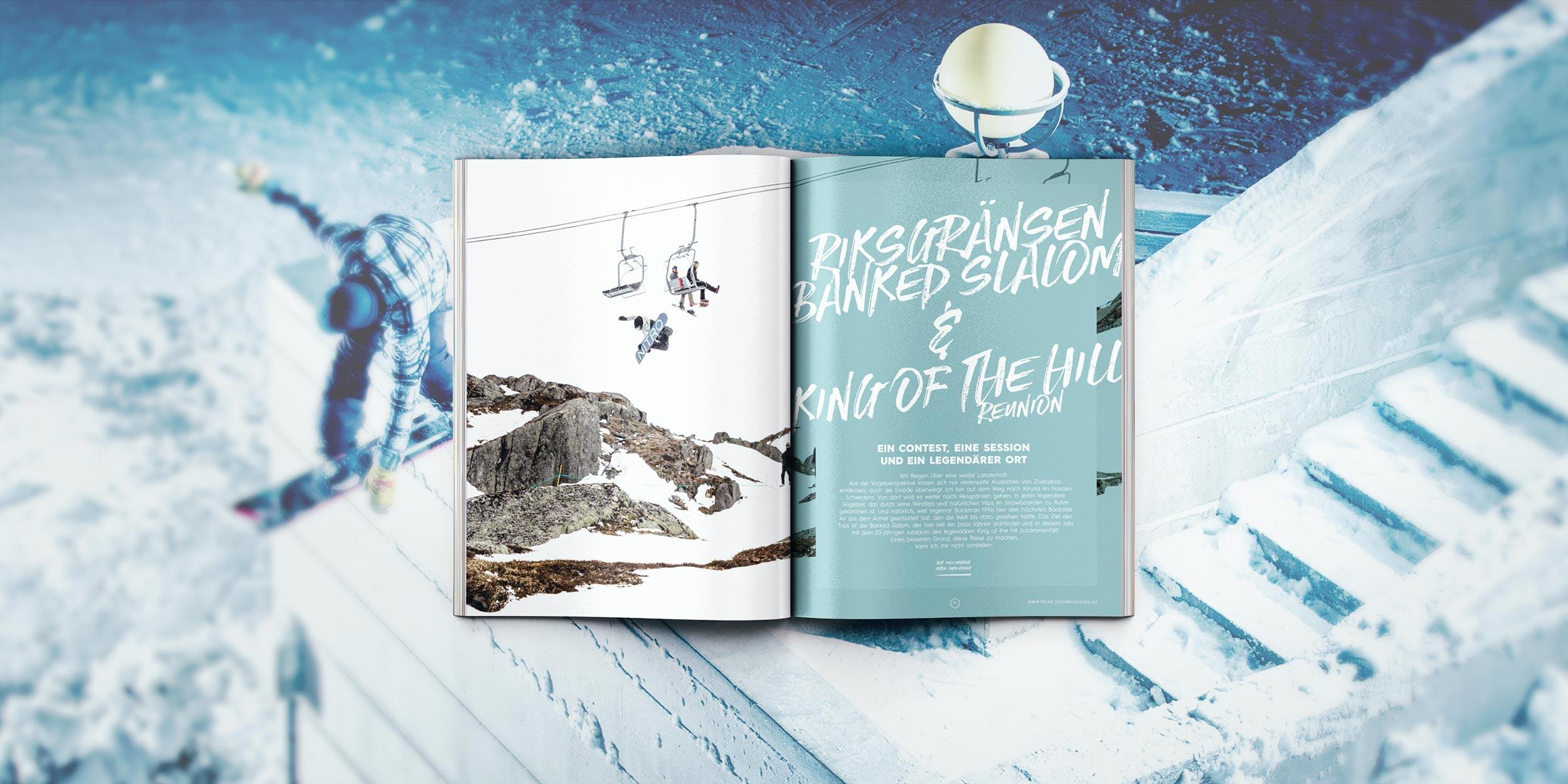 Prime Snowboarding #8 - Riksgränsen