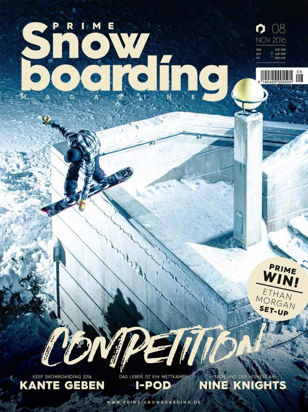 Prime Snowboarding #8 - Cover