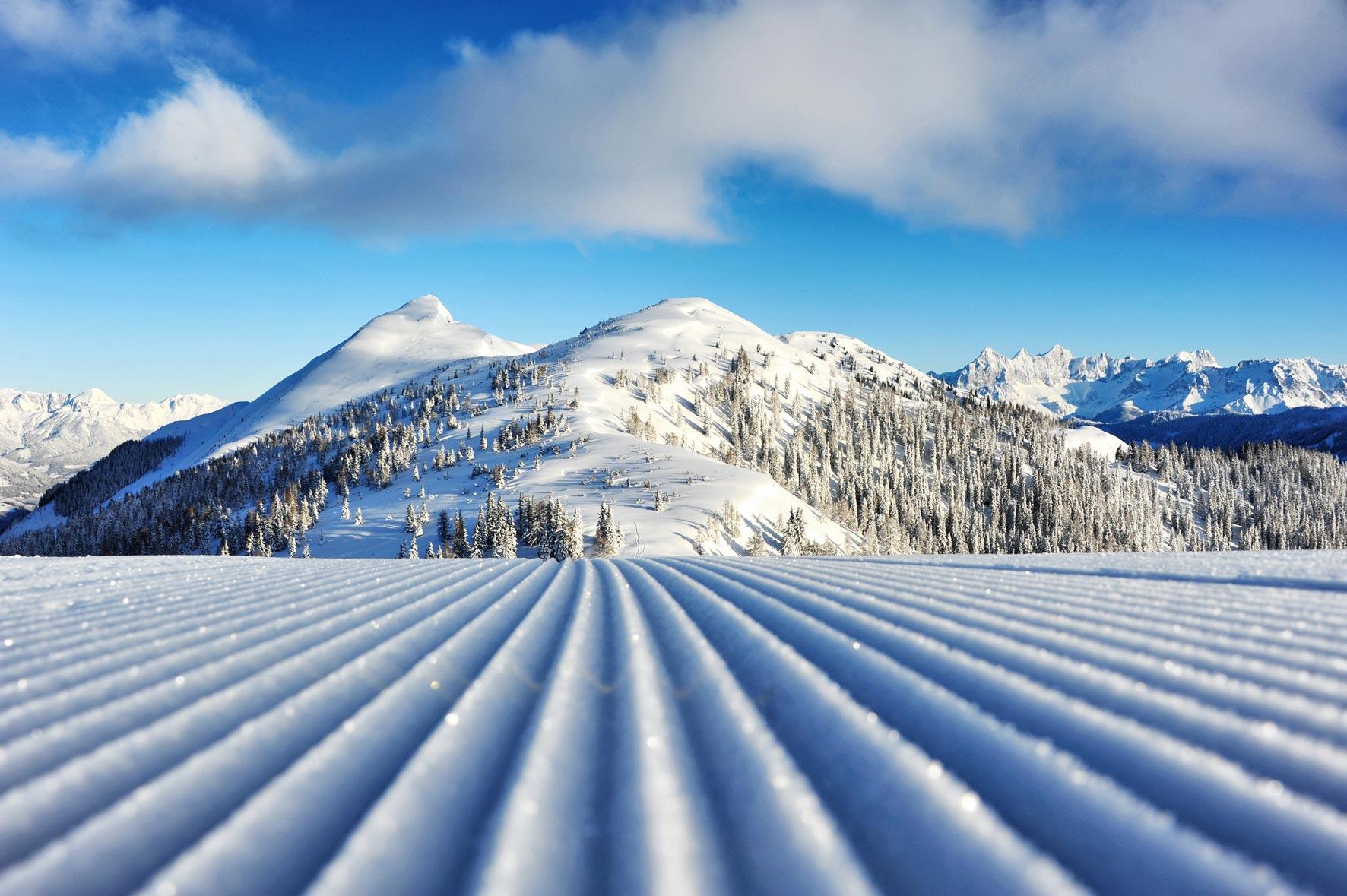 Die Pisten am gamskogel sind ab dem 19. November bereit für für den Winter - Saisonstart am Gamskogel - Zauchensee
