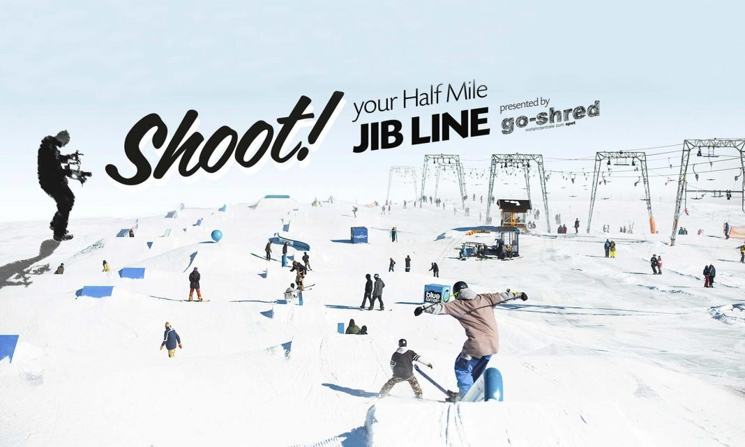 Top To Bottom-Contest im Snowpark Kaunertal
