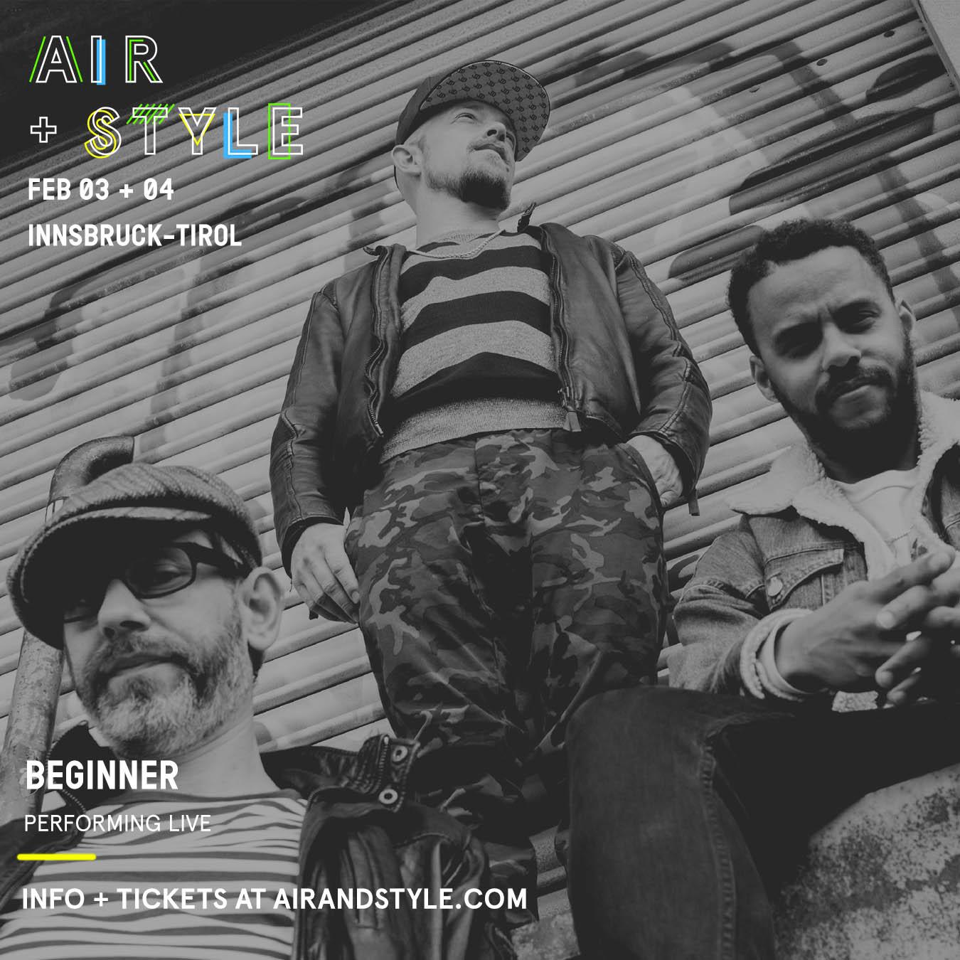 Einer der Headliner beim Air + Style 2017: Die Beginner!