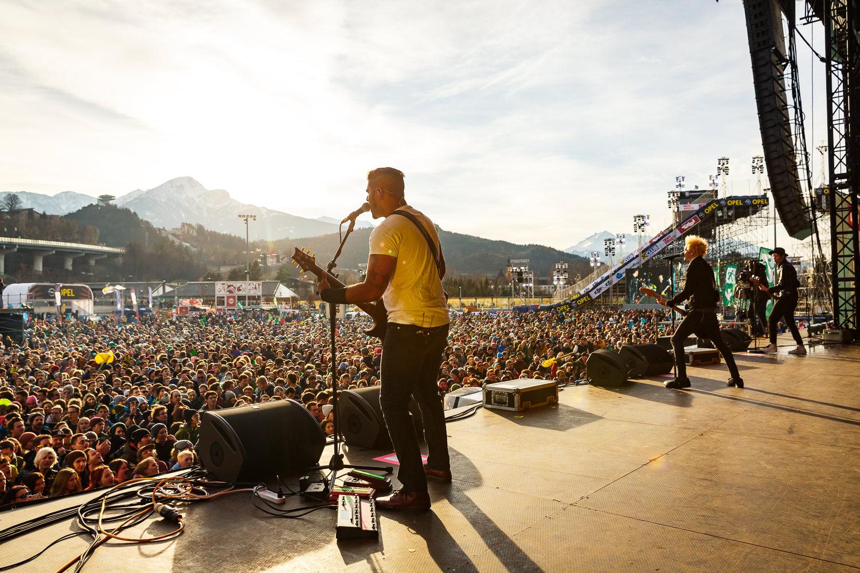 Sum 41 beim Air + Style 2016 in Innsbruck