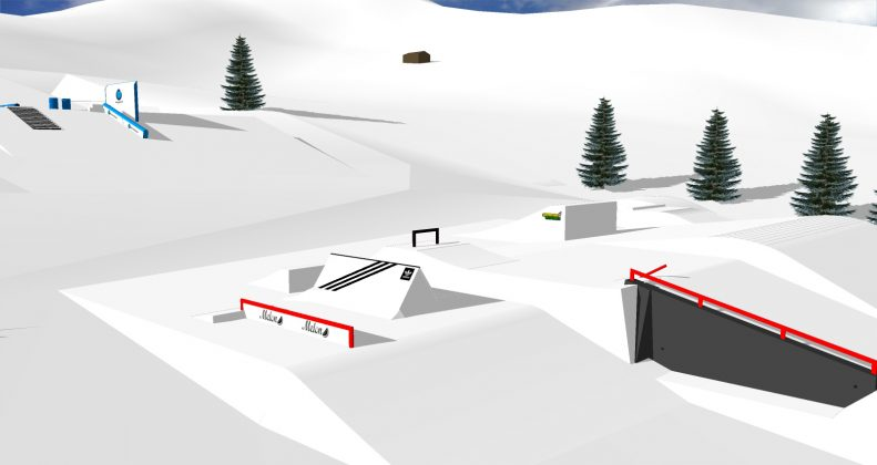Snowpark Grasgehren - Setup Preview 2016/2017