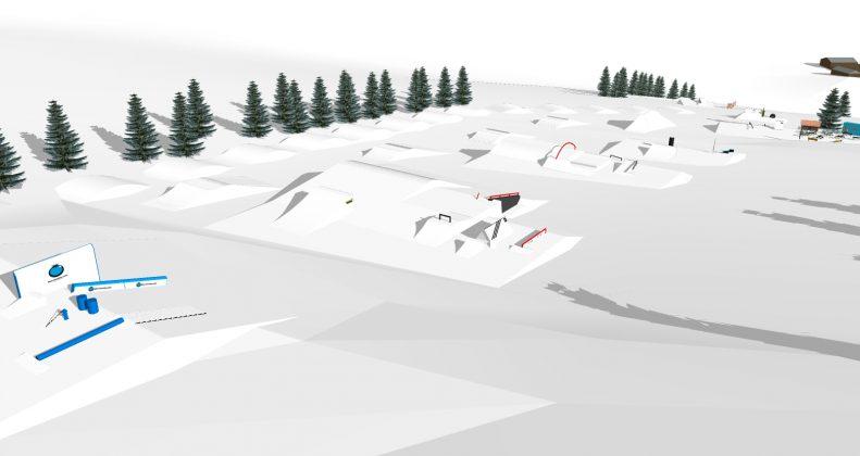 Snowpark Grasgehren: Setup und Event Preview