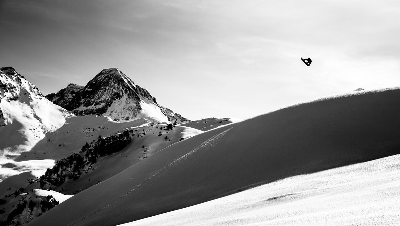 Mario Wanger im heimischen Backcountry