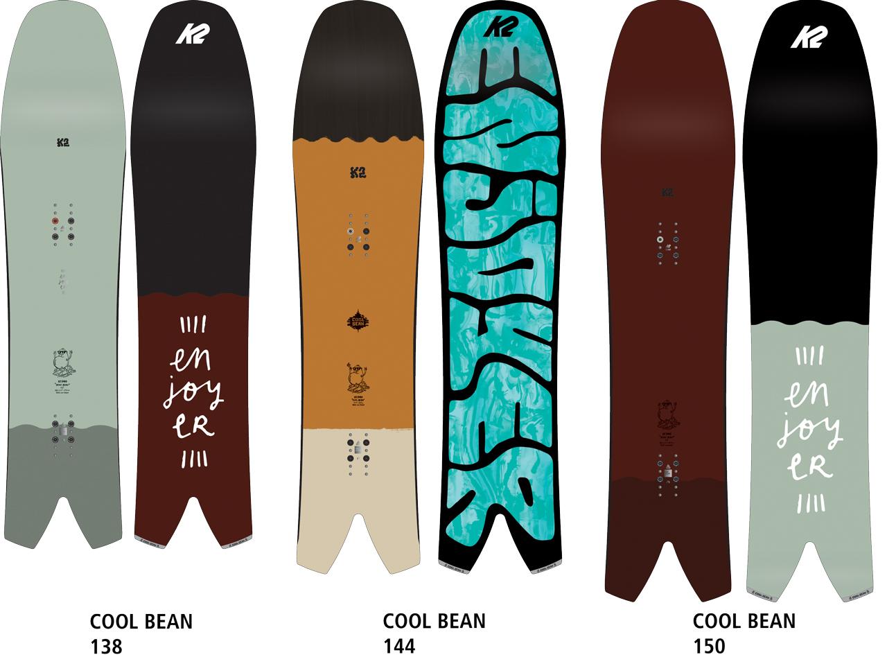 Das Cool Bean aus der Enjoyers-Kollektion von K2 Snowboarding
