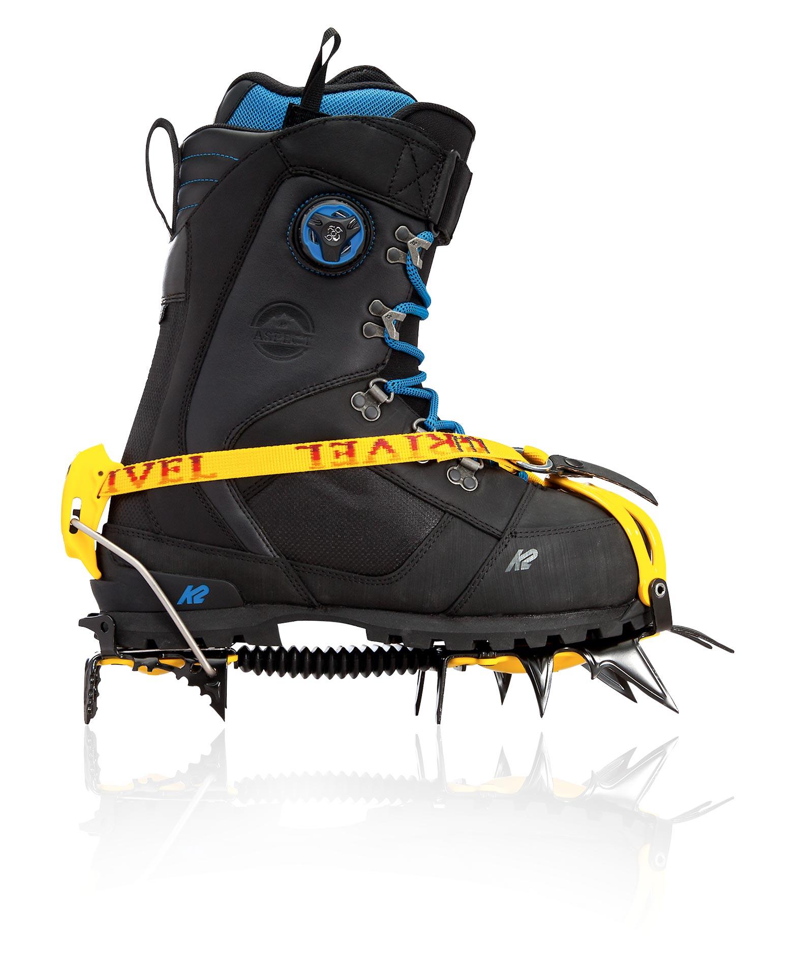 K2: Aspect Boot mit Crampon