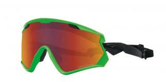 Oakley: Wind Jacket 2.0 (90s Green Prizm-Torch- Iridium)