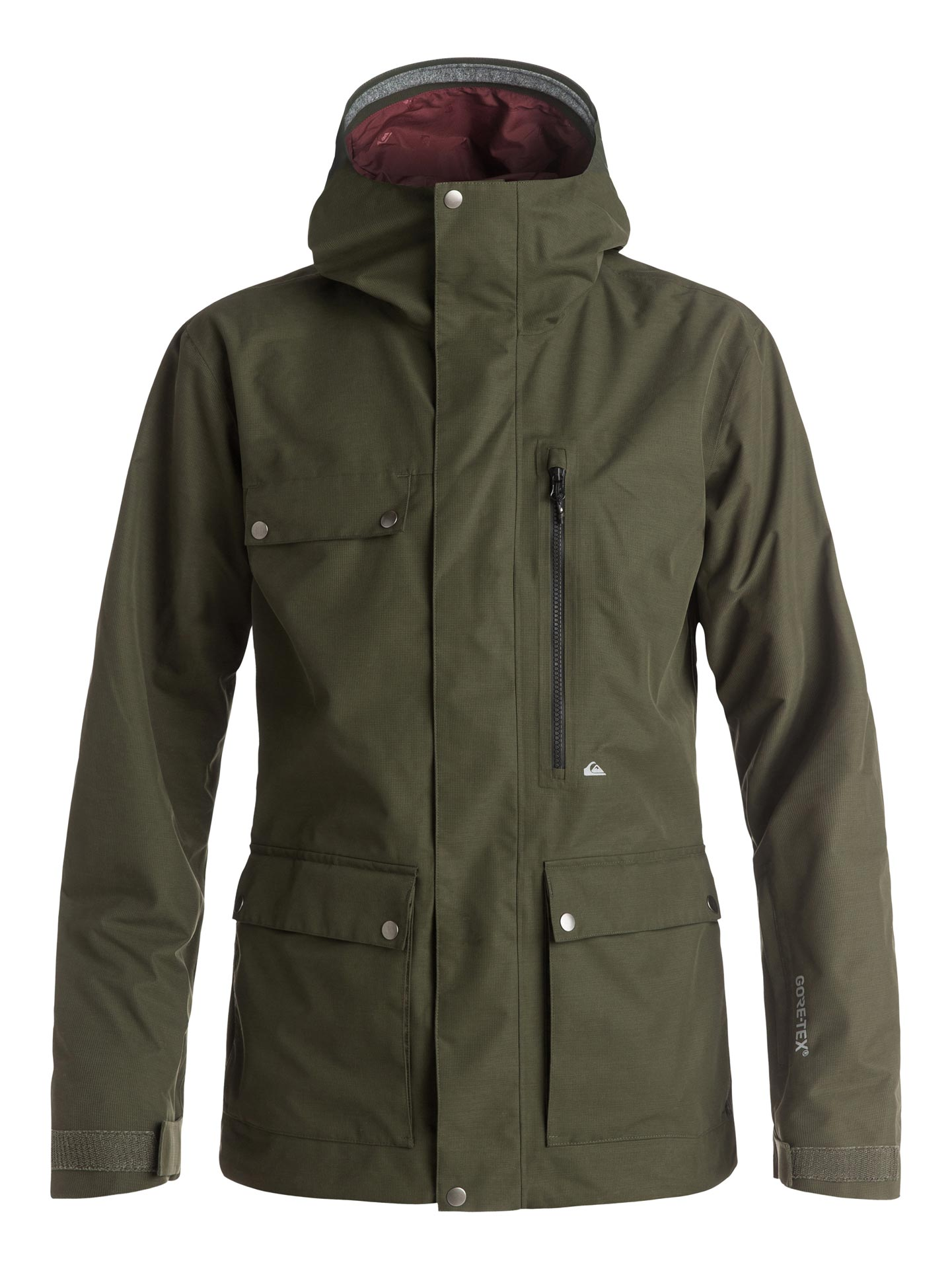 Quiksilver: Southwood Gore-Tex Jacket (Front)