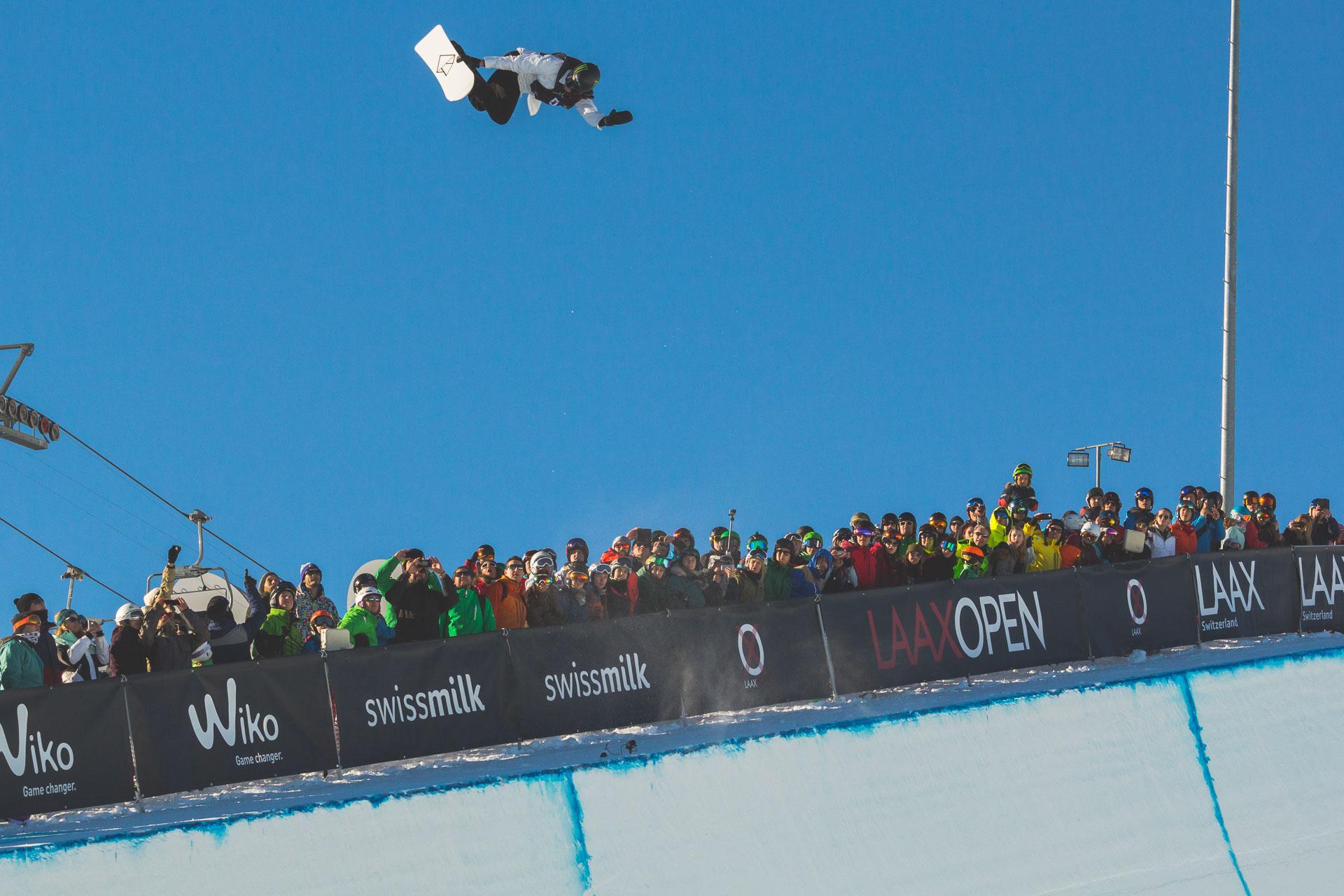 Boostete sich mehr als nur einmal richtig hoch raus und wurde am Ende mit dem dritten Platz belohnt: Olympiasieger Iouri Podladtchikov!