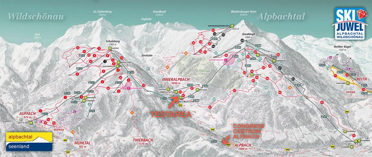 Skijuwel Alpbachtal-Wildschönau | © alpbachtal.at