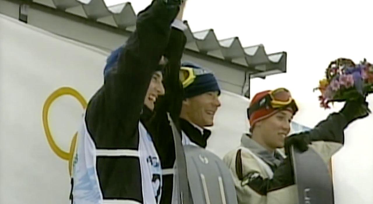 Das Snowboard-Debut der Snowboarder bei den Olympischen Spielen