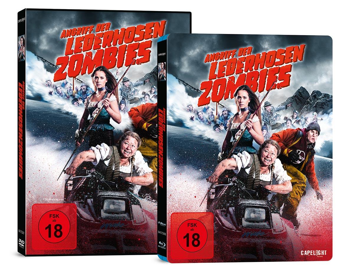 """Angriff der Lederhosenzombies"": DVD und Blu-Ray Box"