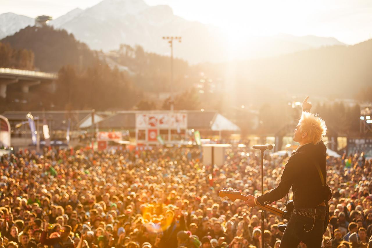 Der Festival-Charakter des Events ist in den vergangenen Jahren mit einm ständig wachsenden Lineup immer stärker geworden | © Air + Style