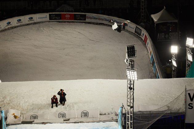Torgeir Bergrem hat es zwar nicht ins Finale geschafft, was ihm jedoch die Möglichkeit gab, bei einem großen Event mal einen Method hinzustellen