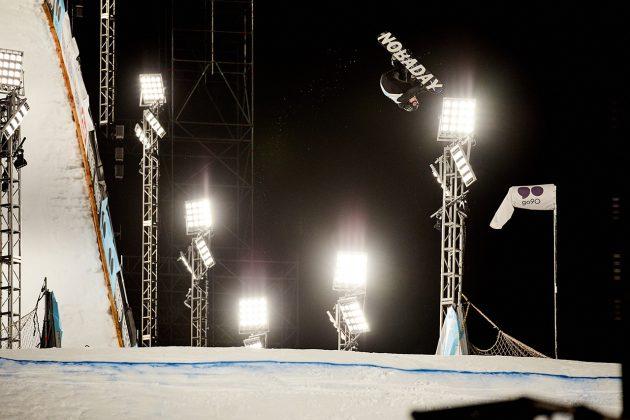 Die Contest-Maschine Max Parrot aus Kanada zwirbelt sich auf Platz eins