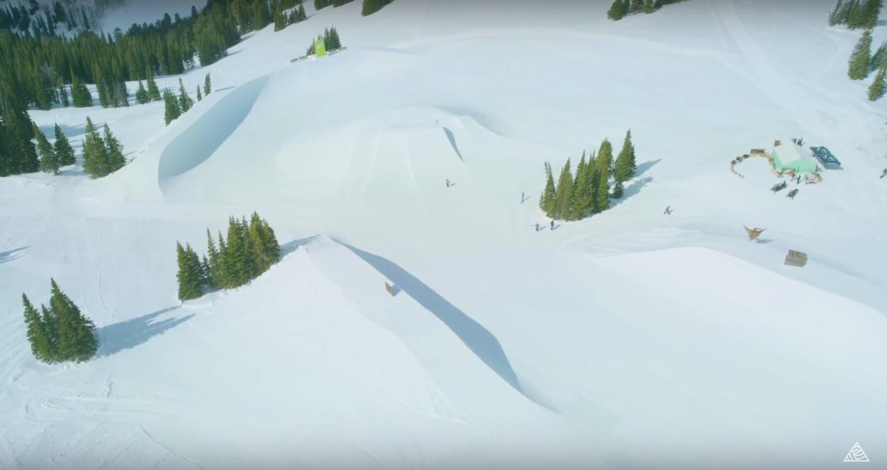 Der Peace Park ist der feuchte Traum jedes Snowboarders