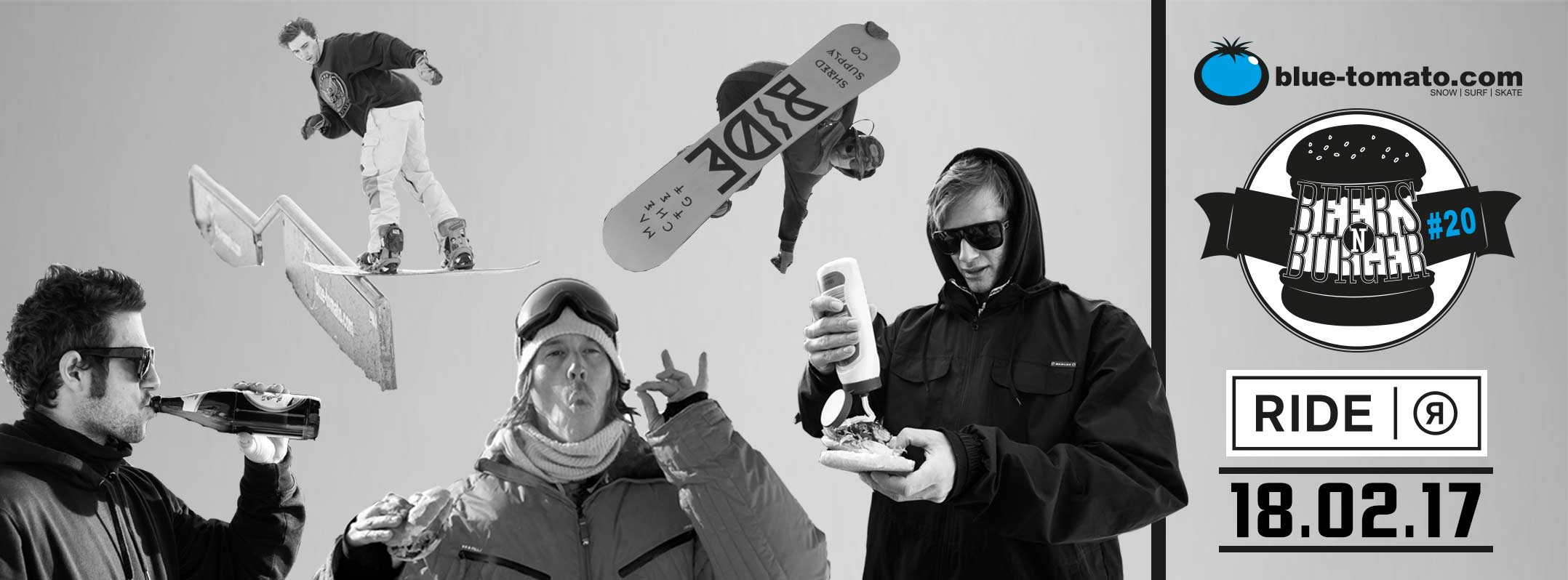 Preview: Beers´N´Burger #20 - Snowpark Grasgehren