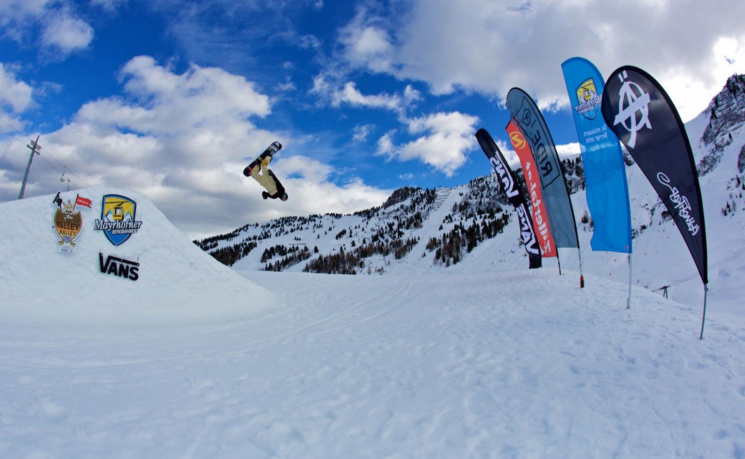 Neben vielen Sideevents sowie einem neuen Highlight steht auch beim großen Finale in Mayrhofen das gemeinsame Shredden im Vordergrund - Foto: Gustav Ohlsson