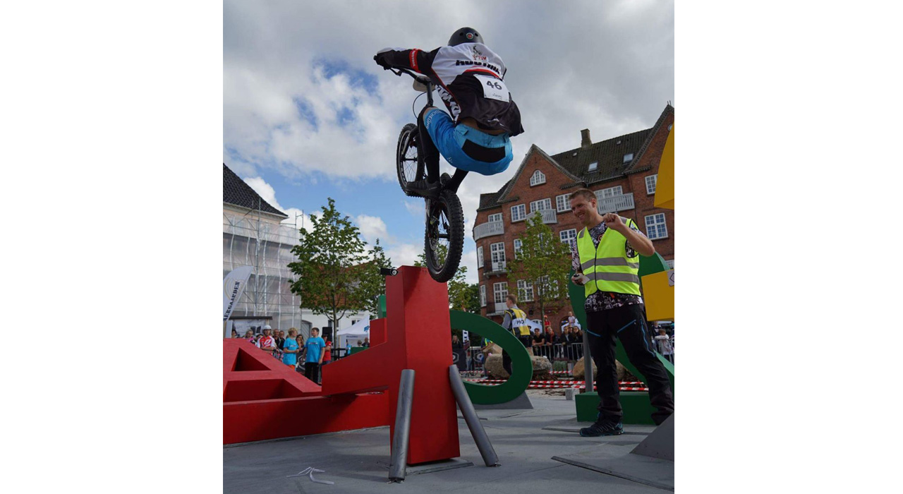 Trial-Action mit Thomas Klausner |©Family Freestyle Weekend