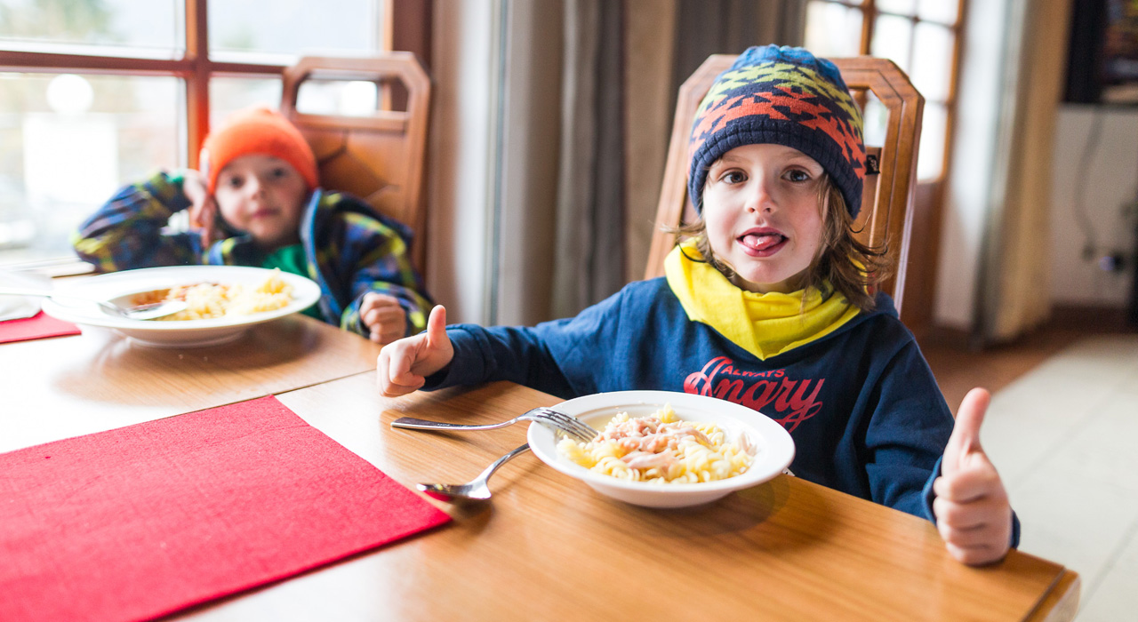 Nudel-Party mit Barilla! |©Family Freestyle Weekend