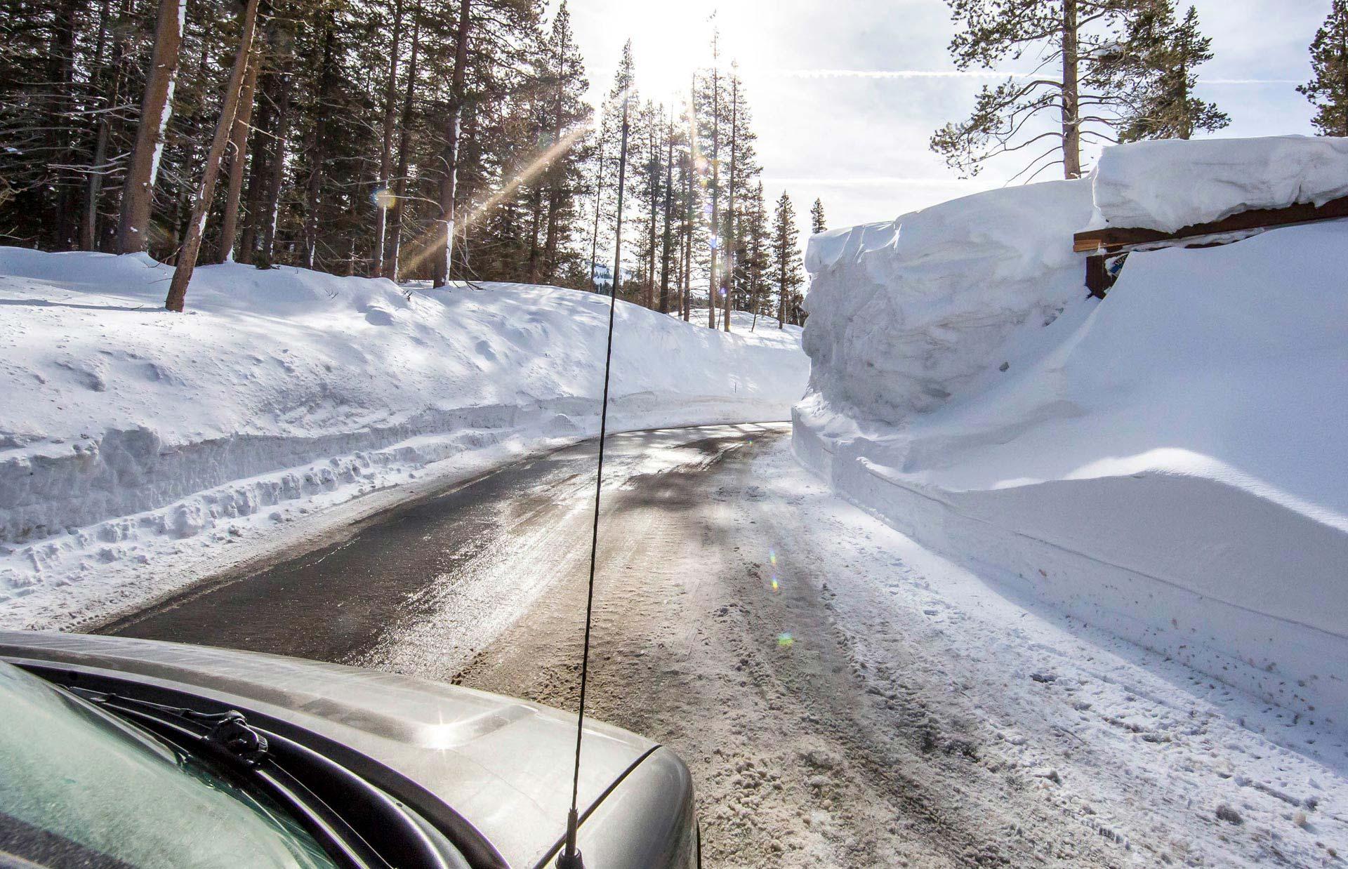Rund um dem Lake Tahoe hatte es so viel Schnee gegeben, wie seit drei Jahren nicht mehr - perfekte Bedingungen also für den Trip des Lebens.
