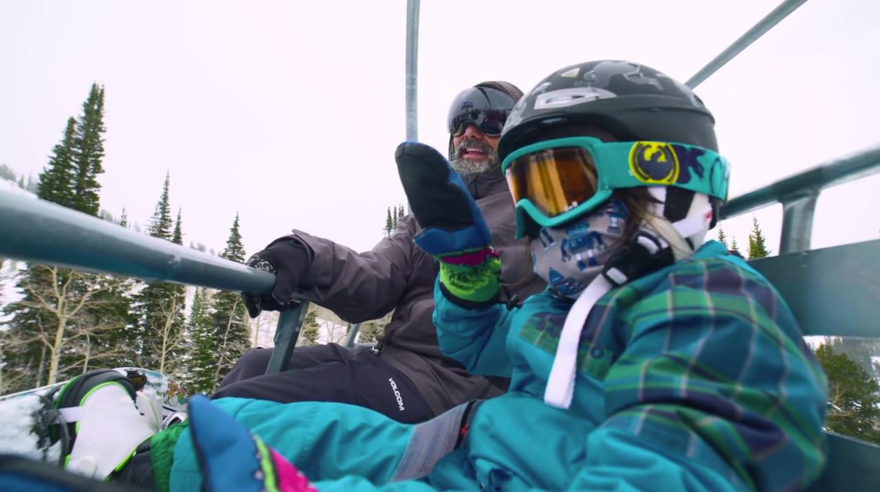 Bryan genießt die Zeit, die mit er seinen Söhnen gemeinsam auf dem Berg verbringen kann