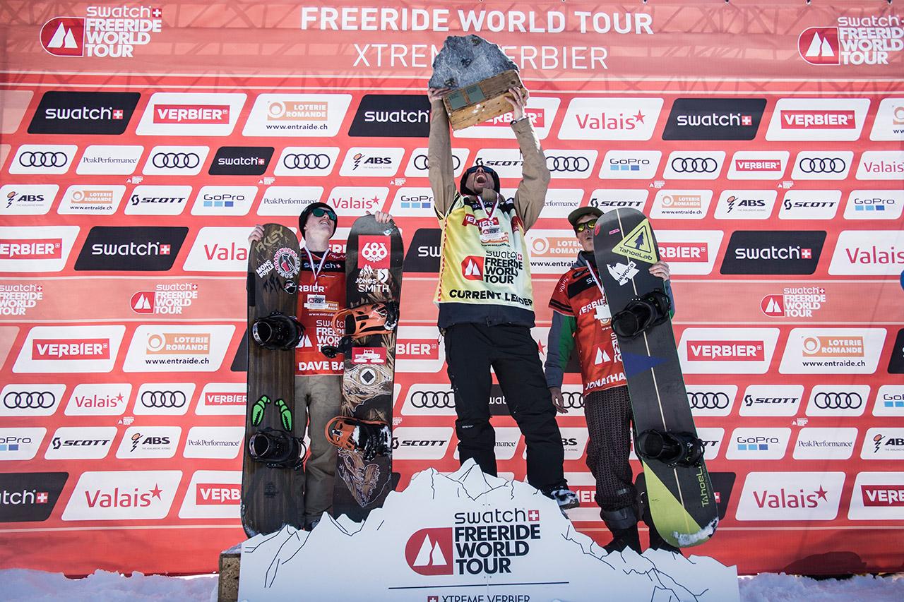 … und die schnellsten Jungs | © Freeride World Tour/D. Daher
